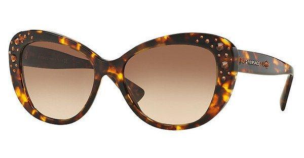 Versace Damen Sonnenbrille » VE4309B« in 514813 - braun/braun