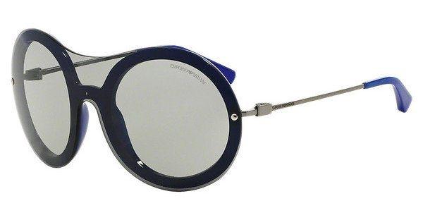 Emporio Armani Damen Sonnenbrille » EA4055« in 542587 - blau/grau