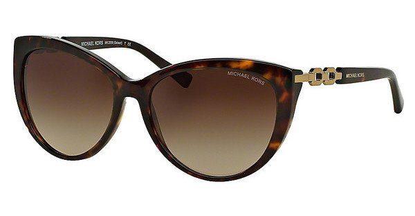 MICHAEL KORS Michael Kors Damen Sonnenbrille »GSTAAD MK2009«, braun, 300613 - braun/braun