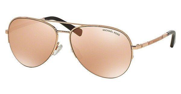 Michael Kors Damen Sonnenbrille »GRAMERCY MK1001« in 1021R1 - rosa/ gold