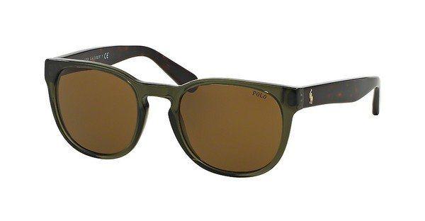 Polo Herren Sonnenbrille » PH4099« in 554273 - braun/braun