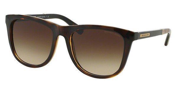 Michael Kors Damen Sonnenbrille »ALGARVE MK6009« in 301013 - braun/braun