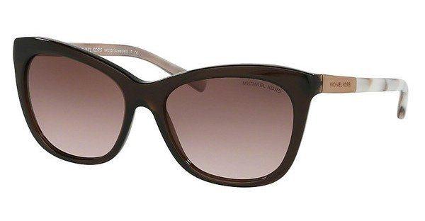 Michael Kors Damen Sonnenbrille »ADELAIDE II MK2020« in 311714 - braun/rosa