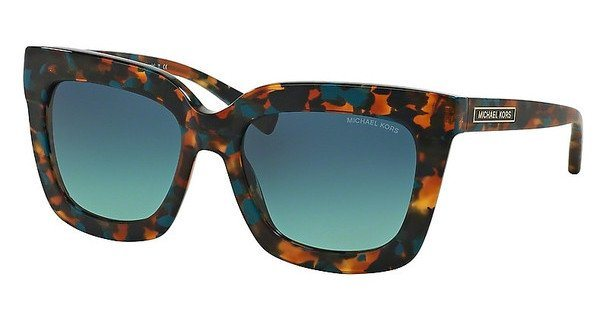 Michael Kors Damen Sonnenbrille »POLYNESIA MK2013« in 30684S - blau/ grün