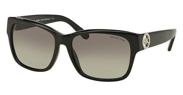 Michael Kors Damen Sonnenbrille »SALZBURG MK6003« in 300511 - schwarz/grau