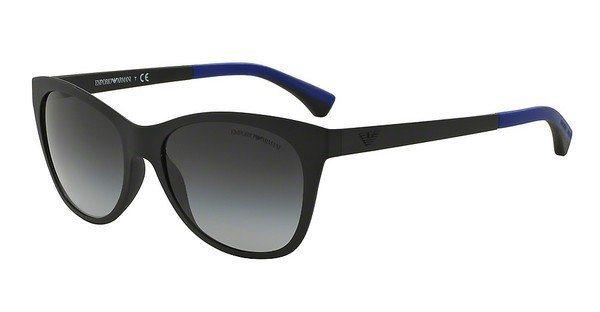 Emporio Armani Damen Sonnenbrille » EA4046« in 53238G - schwarz/grau
