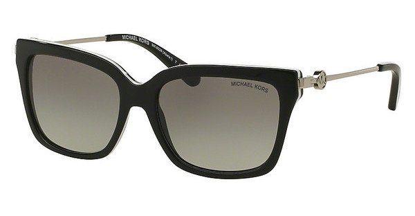 Michael Kors Damen Sonnenbrille »ABELA I MK6038« in 312911 - schwarz/grau
