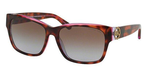 Michael Kors Damen Sonnenbrille »SALZBURG MK6003« in 300368 - rot/braun