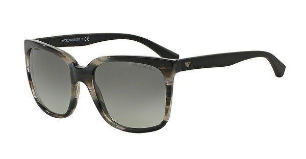 Emporio Armani Damen Sonnenbrille » EA4049« in 538511 - braun/grau