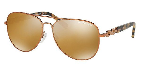 Michael Kors Damen Sonnenbrille »FIJI MK1003« in 10915N - rosa/orange