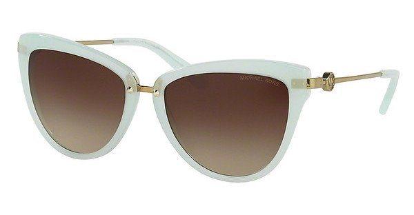 Michael Kors Damen Sonnenbrille »ABELA II MK6039« in 315713 - weiß/braun
