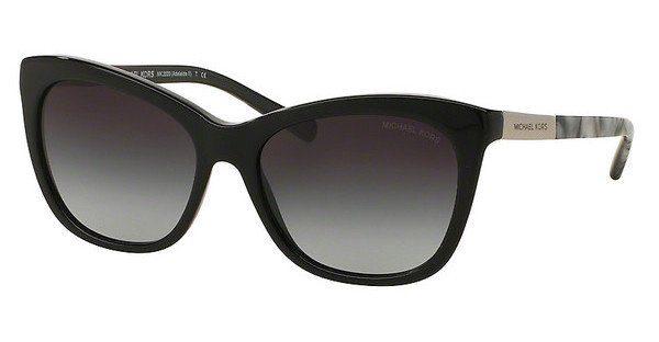 MICHAEL KORS Michael Kors Damen Sonnenbrille »ADELAIDE II MK2020«, schwarz, 312011 - schwarz/grau