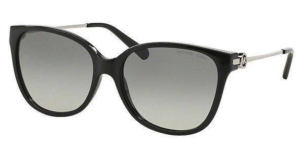 Michael Kors Damen Sonnenbrille »MARRAKESH MK6006« in 300511 - schwarz/grau