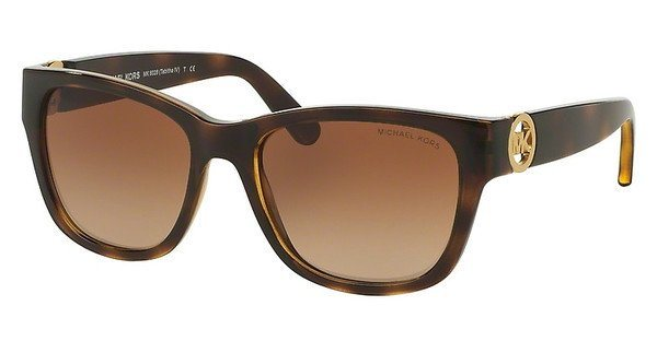Michael Kors Damen Sonnenbrille »TABITHA IV MK6028« in 300613 - braun/braun