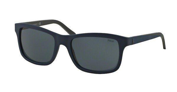 Polo Herren Sonnenbrille » PH4095« in 552887 - blau/blau