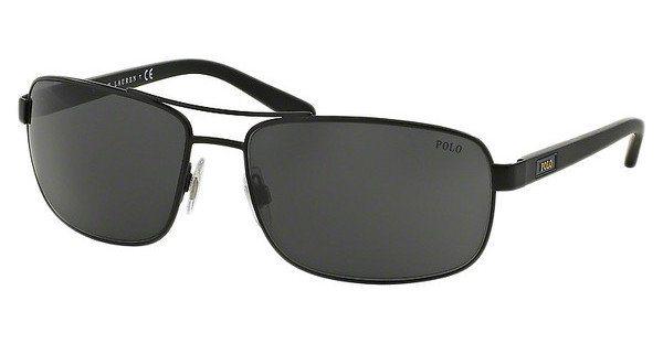 Polo Herren Sonnenbrille » PH3095« in 903887 - schwarz/grau