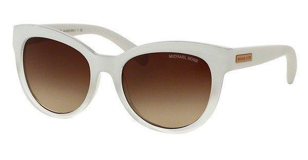 Michael Kors Damen Sonnenbrille »MITZI I MK6035« in 312613 - weiß/braun
