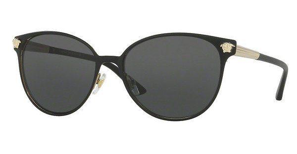Versace Damen Sonnenbrille » VE2168«, schwarz, 137787 - schwarz/grau