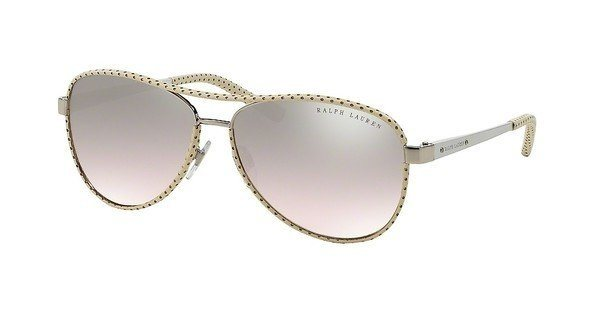 Ralph Lauren Damen Sonnenbrille » RL7050Q« in 92978Z - silber/silber
