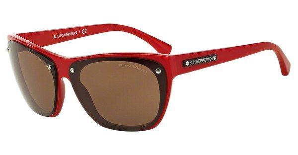 Emporio Armani Damen Sonnenbrille » EA4059« in 547673 - rot/braun