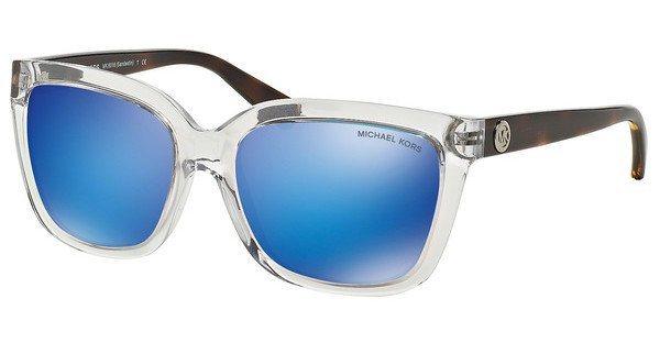 Michael Kors Damen Sonnenbrille »SANDESTIN MK6016« in 305025 - weiß/blau