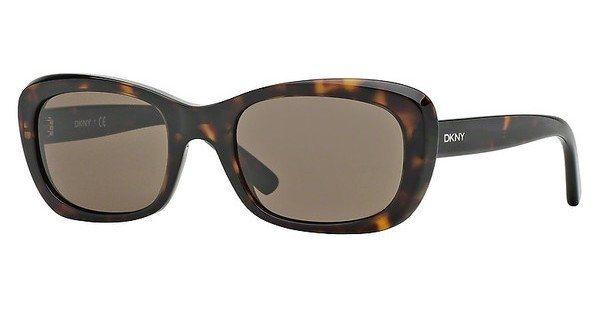 DKNY Damen Sonnenbrille » DY4118« in 301673 - braun/braun