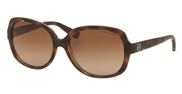 Michael Kors Damen Sonnenbrille »ISLE OF SKYE MK6017« in 300613 - braun/braun