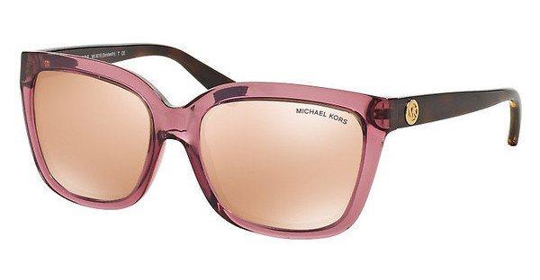 Michael Kors Damen Sonnenbrille »SANDESTIN MK6016« in 3053R1 - rosa/ gold
