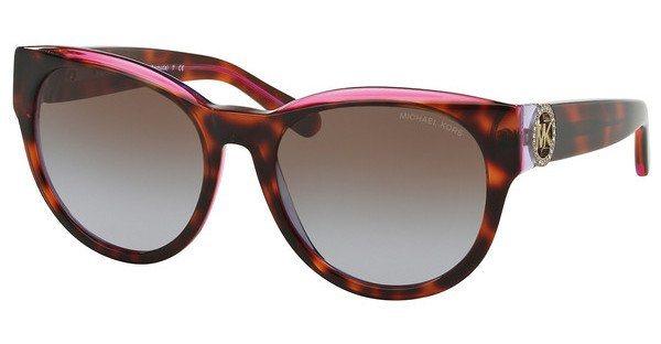 Michael Kors Damen Sonnenbrille »BERMUDA MK6001B« in 300368 - rot/ lila