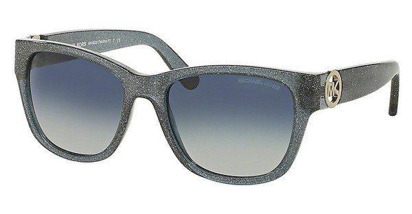 MICHAEL KORS Michael Kors Damen Sonnenbrille »TABITHA IV MK6028«, blau, 31024L - blau/blau