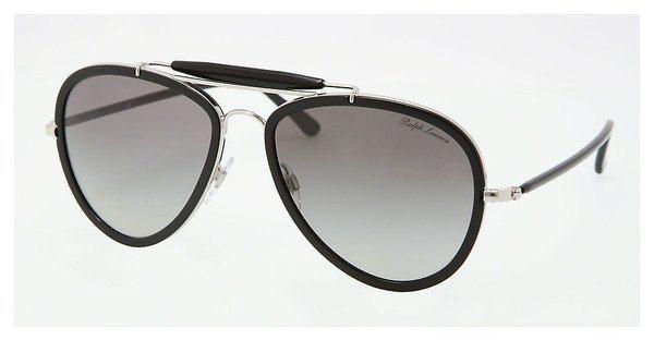Ralph Lauren Damen Sonnenbrille » RL7038W« in 91783C - schwarz/grau