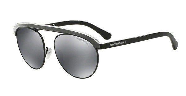 Emporio Armani Herren Sonnenbrille » EA2035« in 30146G - schwarz/schwarz