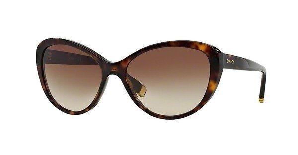 DKNY Damen Sonnenbrille » DY4084« in 301613 - braun/braun