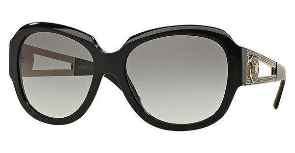 Versace Damen Sonnenbrille » VE4304« in GB1/11 - schwarz/grau