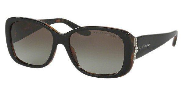 Ralph Lauren Damen Sonnenbrille » RL8127B« in 52608E - schwarz/ grün