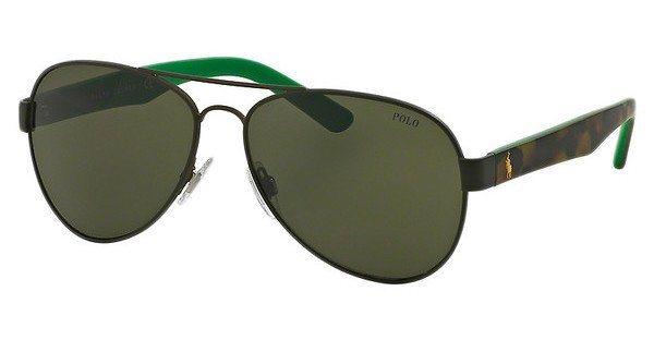 Polo Herren Sonnenbrille » PH3096« in 900571 - schwarz/ grün