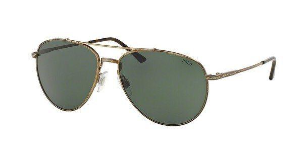 Polo Herren Sonnenbrille » PH3094« in 928971 - braun/grün