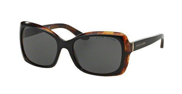 Ralph Lauren Damen Sonnenbrille » RL8134« in 526087 - schwarz/grau