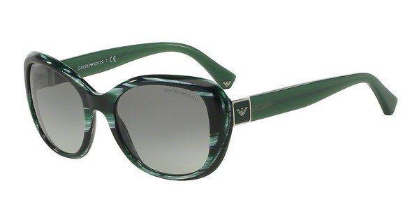 Emporio Armani Damen Sonnenbrille » EA4052« in 539711 - grün/grau