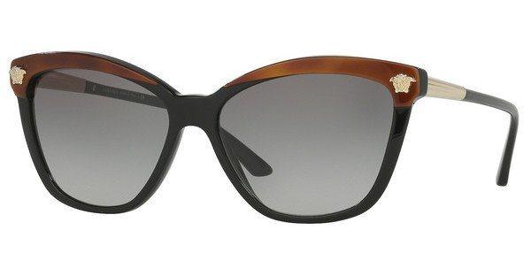 Versace Damen Sonnenbrille » VE4313« in 518011 - braun/grau