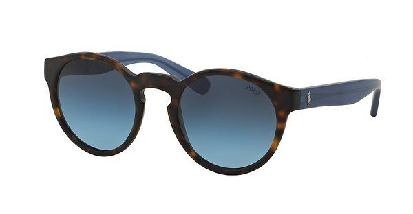Polo Damen Sonnenbrille » PH4101« in 55668F - braun/blau