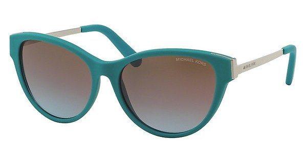 Michael Kors Damen Sonnenbrille »PUNTE ARENAS MK6014« in 302348 - blau/ braun