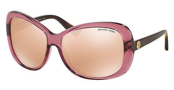 Michael Kors Damen Sonnenbrille »HANALEI BAY MK6018« in 3053R1 - rosa/ gold