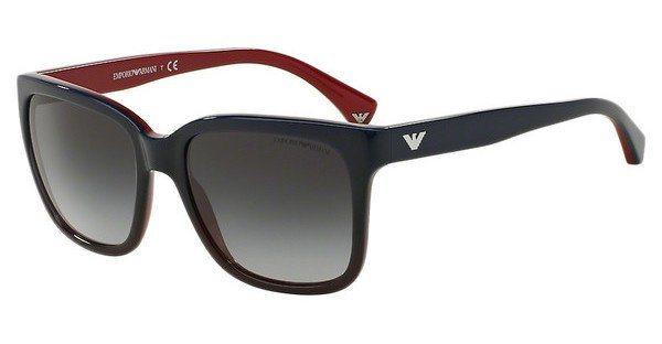 Emporio Armani Damen Sonnenbrille » EA4042« in 53478G - blau/grau
