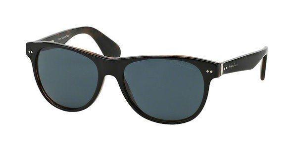Ralph Lauren Herren Sonnenbrille » RL8129P« in 5260R5 - schwarz/grau