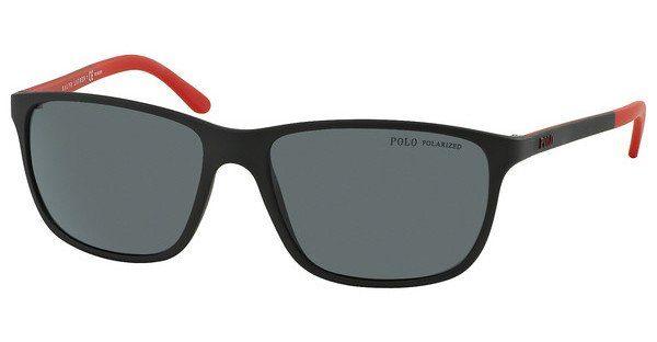 Polo Herren Sonnenbrille » PH4092«, schwarz, 550481 - schwarz/grau