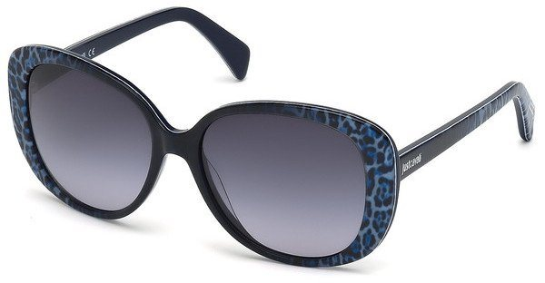 Just Cavalli Damen Sonnenbrille » JC647S« in 83W - lila/blau
