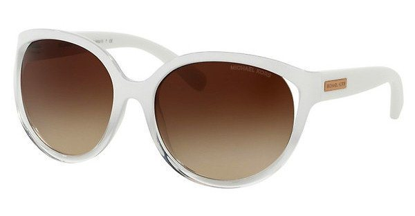 Michael Kors Damen Sonnenbrille »MITZI II MK6036« in 312613 - weiß/braun
