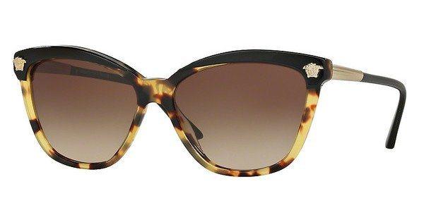 Versace Damen Sonnenbrille » VE4313« in 517713 - schwarz/braun