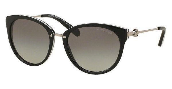 MICHAEL KORS Michael Kors Damen Sonnenbrille »ABELA III MK6040«, grau, 321111 - grau/blau